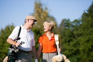 Senior couple in retirement